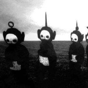 teletubbies noir et blanc joy division
