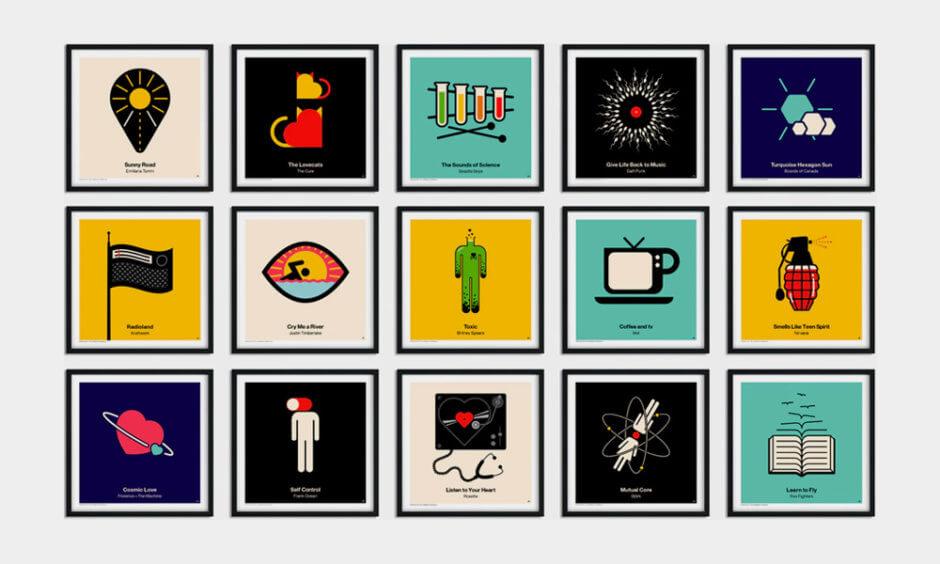 pictogram vinyl posters viktor hertzpictogram vinyl posters viktor hertz